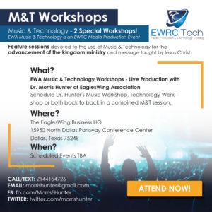 EWRC Tech Workshop 2019