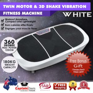 White Twin Motor Vibration